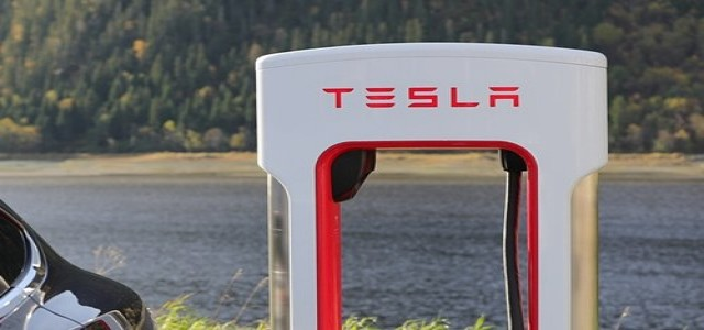 Tesla Inc. rolls out fast electric car charging facility in Berlin